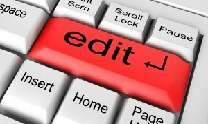 why you need an editor