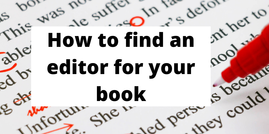 how to find an editor