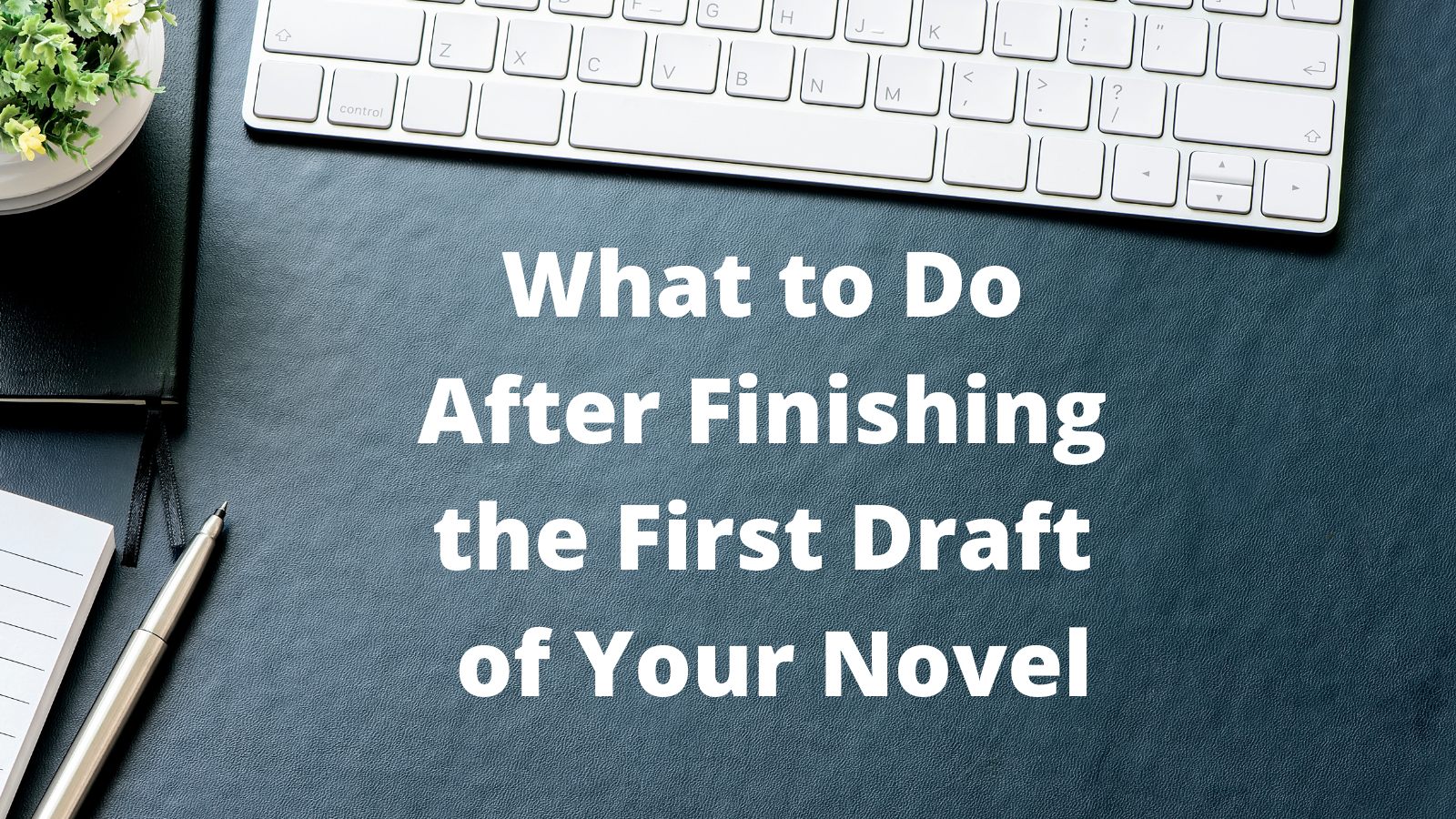 What to do After Finishing the First Draft of your Novel